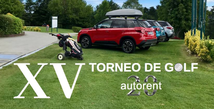 XV torneo de golf autorent