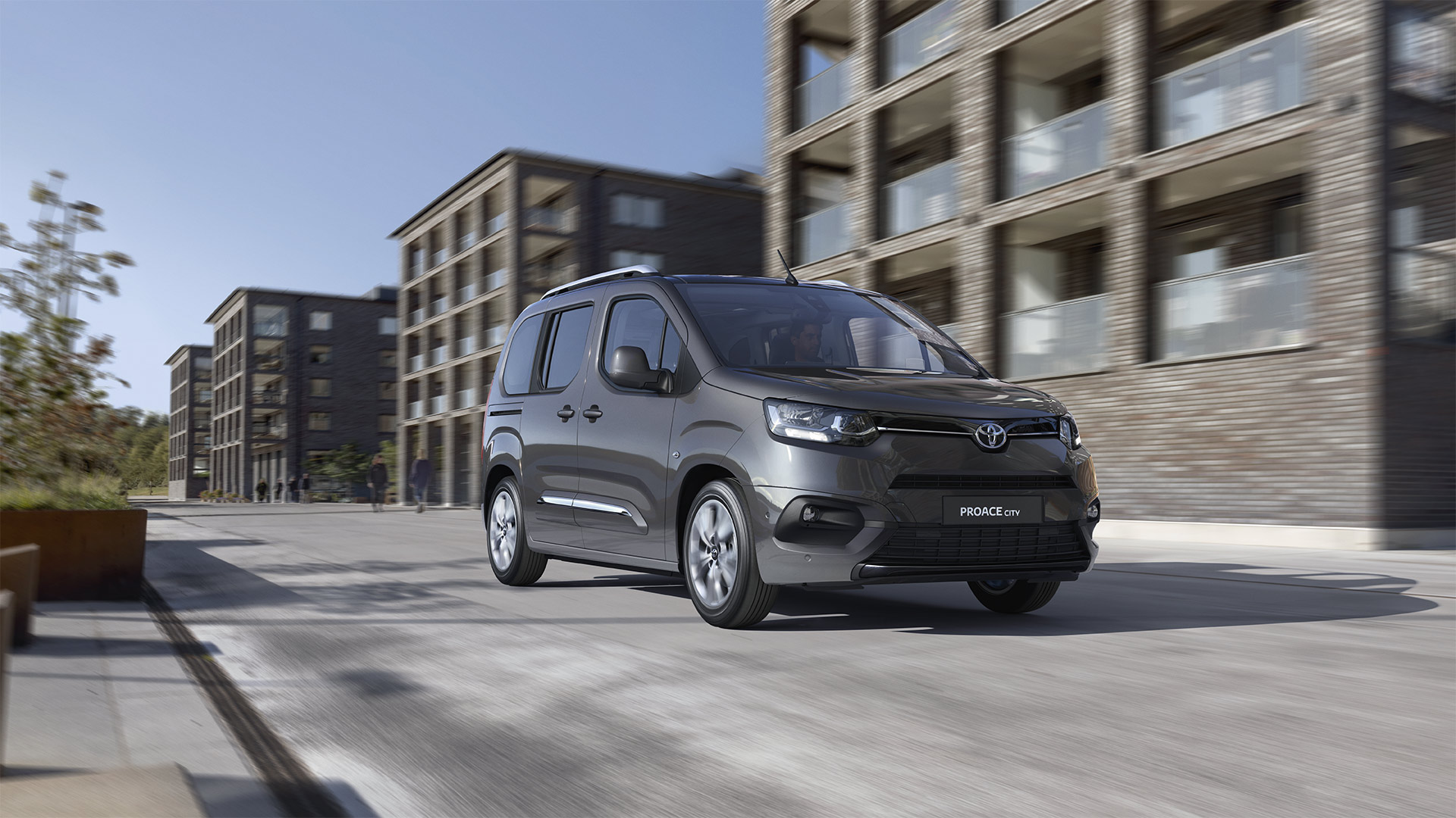 Renting toyota proace city verso FAMILY 5 plzas L1