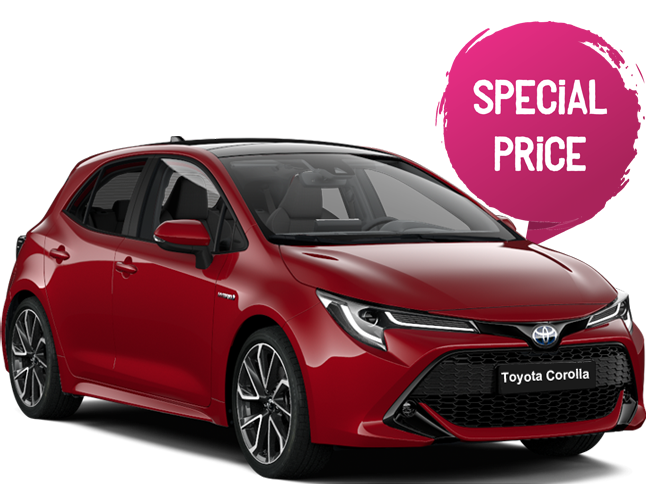 RENTING TOYOTA COROLLA SPECIAL PRICE